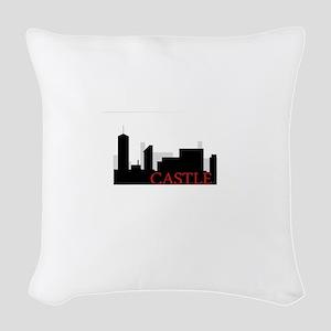 Castle NYC Woven Throw Pillow