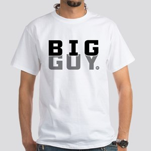 Big Guy Sport White T-Shirt