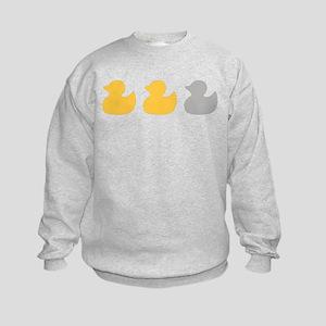Transparent Duck Duck Sweatshirt