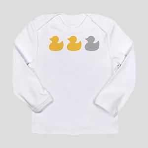 Transparent Duck Duck Long Sleeve T-Shirt