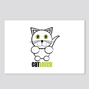 Cat Lover Postcards (Package of 8)