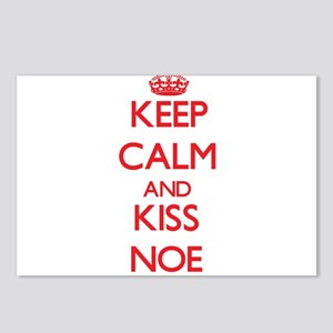 Keep Calm and Kiss Noe Postcards (Package of 8)