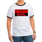 Government is Evil Ringer T