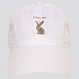 I Love You from Ear to Ear Cap