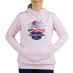 Custom 4th of July Women's Hooded Sweatshirt