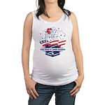 Custom 4th of July Maternity Tank Top
