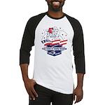 Custom 4th of July Baseball Jersey