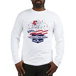 Custom 4th of July Long Sleeve T-Shirt