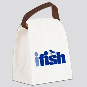 ifish (fly) Canvas Lunch Bag