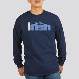 ifish (fly) Long Sleeve T-Shirt