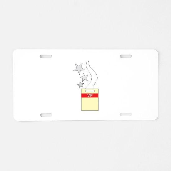 VIP Tag Aluminum License Plate