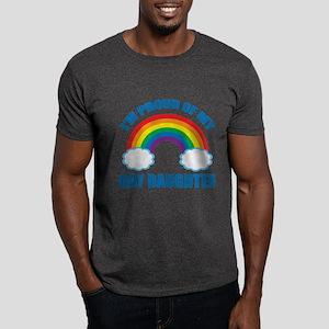 Gay Daughter Dark T-Shirt