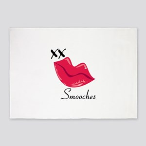 Smooches 5'x7'Area Rug