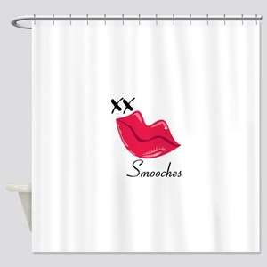 Smooches Shower Curtain