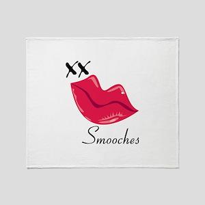 Smooches Throw Blanket