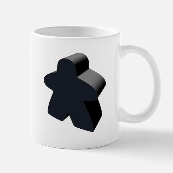 Black Meeple Mug