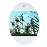 Hay in the summer Ornament (Oval)