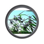 Hay in the summer Wall Clock