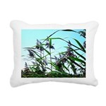 Hay in the summer Rectangular Canvas Pillow