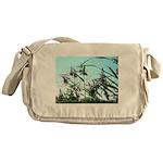 Hay in the summer Messenger Bag