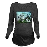 Hay in the summer Long Sleeve Maternity T-Shirt