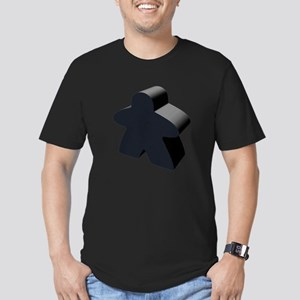 Black Meeple T-Shirt