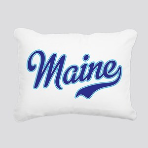 Maine Rectangular Canvas Pillow