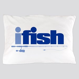 ifish (rod) Pillow Case