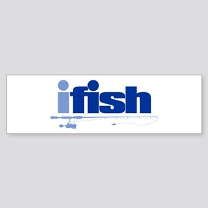 ifish (rod) Bumper Sticker