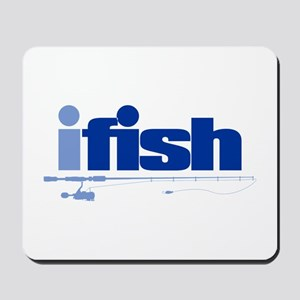 ifish (rod) Mousepad
