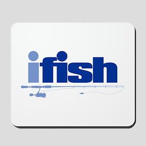 ifish (rod) Mousepad