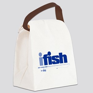 ifish (rod) Canvas Lunch Bag