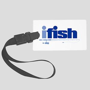 ifish (rod) Luggage Tag