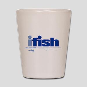 ifish (rod) Shot Glass