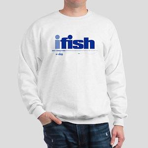 ifish (rod) Sweatshirt