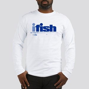 ifish (rod) Long Sleeve T-Shirt