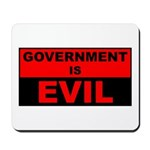 Government is Evil Mousepad