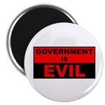 """Government is Evil 2.25"""" Magnet (10 pack)"""