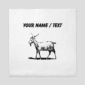 Custom Goat Queen Duvet