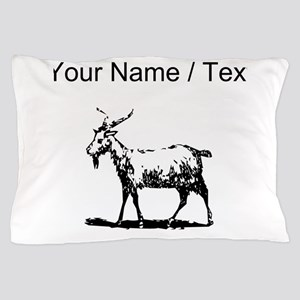 Custom Goat Pillow Case