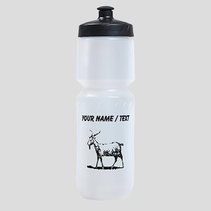 Custom Goat Sports Bottle