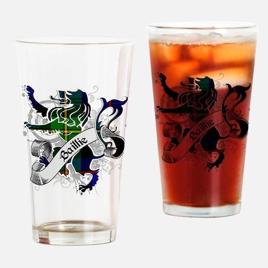 Baillie Tartan Lion Drinking Glass