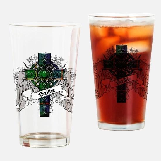 Baillie Tartan Cross Drinking Glass