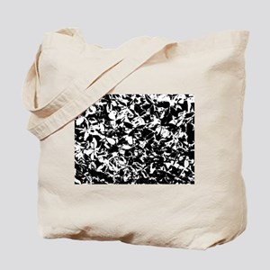 Black And White Ground Cover Tote Bag