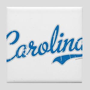 Carolina Blue Tile Coaster