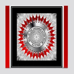 Cherokee Nation2 Tile Coaster