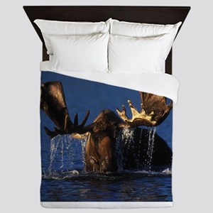 Time for a Cool Dip Queen Duvet