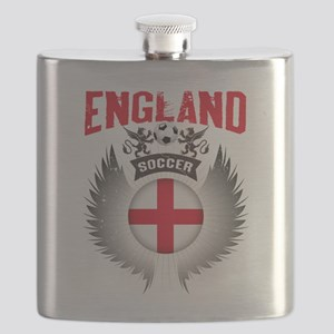 Soccer England Vintage Wings Flask