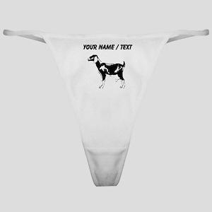Custom Billie Goat Silhouette Classic Thong