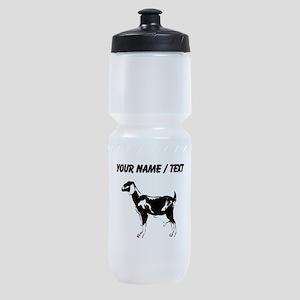 Custom Billie Goat Silhouette Sports Bottle
